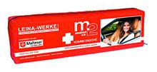 Leina-Werke 15036 Mini-Kombitasche M3 mit Klett Rot//Schwarz